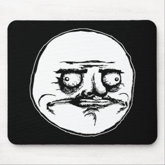 me gusta face rage face meme humor lol rofl mouse mat