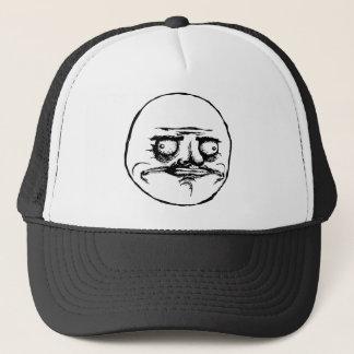 me gusta face rage face meme humor lol rofl trucker hat