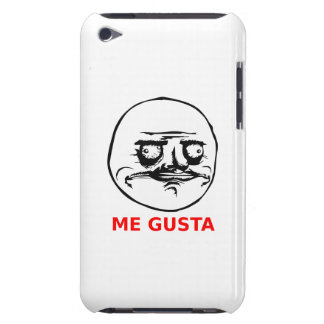 Me Gusta Face with Text iPod Touch Cases
