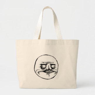 me gusta large jumbo tote bag