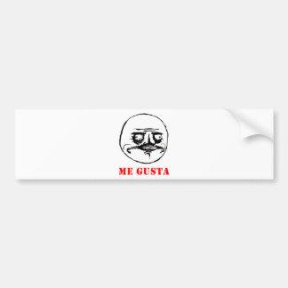 Me Gusta - meme Bumper Stickers