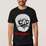 Me Gusta Rage Face Meme Tee Shirts