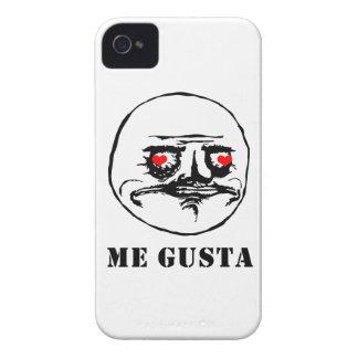 Me Gusta Valentine in Love - meme Case-Mate iPhone 4 Case