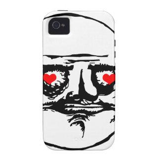 Me Gusta Valentine in Love - meme Vibe iPhone 4 Case