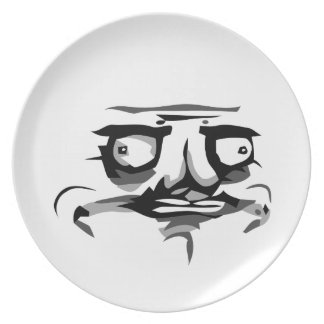 me gusta web comic face Plate