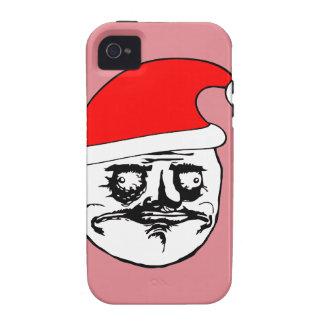 me gusta xmas meme vibe iPhone 4 cases