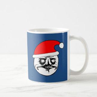 me gusta xmas meme basic white mug