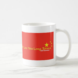 Me Love You Long Term Basic White Mug
