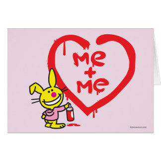 Me + Me Greeting Card