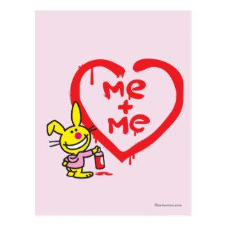 Me + Me Postcard