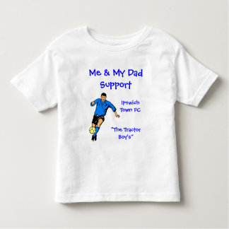 Me & My Dad Support... Toddler T-Shirt
