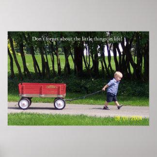 Me & My Wagon Poster