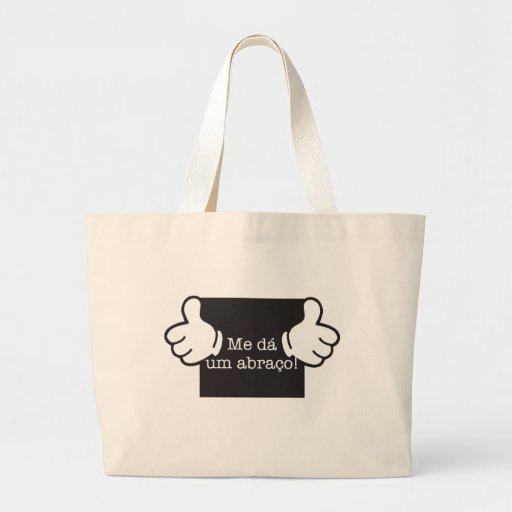 Me of the one hug tote bags