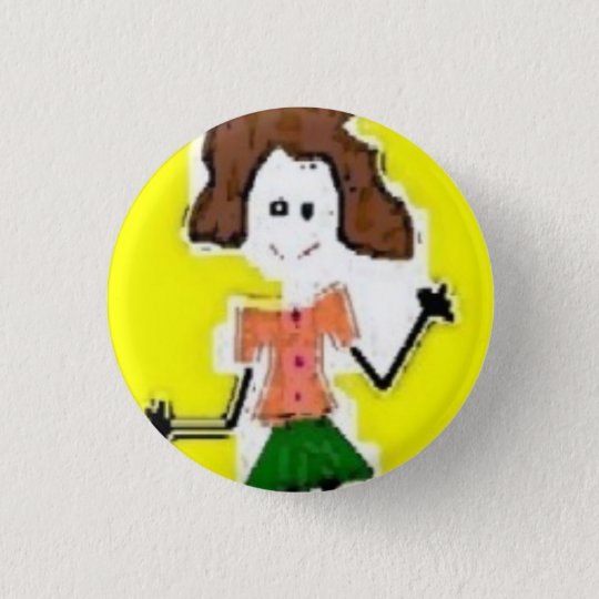 ME on wheels - Customised 3 Cm Round Badge
