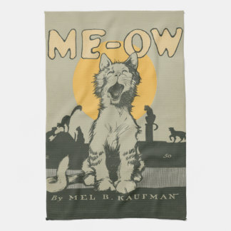 Me-ow Hand Towel