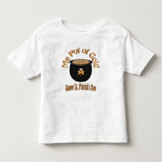 Me Pot of Gold says the Leprechaun Tee Shirts