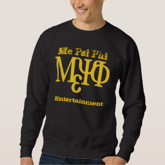 Me Psi Phi Black Sweatshirt