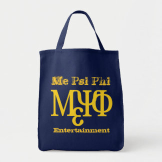 Me Psi Phi Entertainment Tote Bag