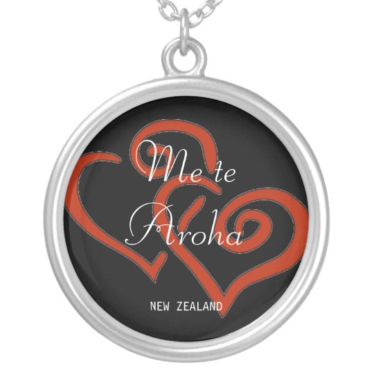 Me teAroha, NEW ZEALAND Silver Plated Necklace
