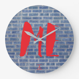 Me Time Graffiti Clock