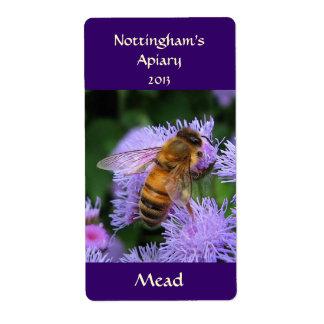 Mead Honeywine Label Shipping Label