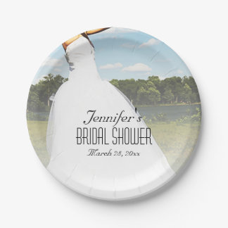 Meadow Bride 7 Inch Paper Plate