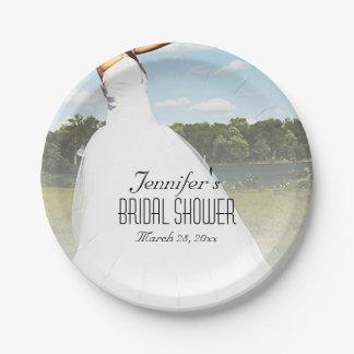 Meadow Bride Paper Plate