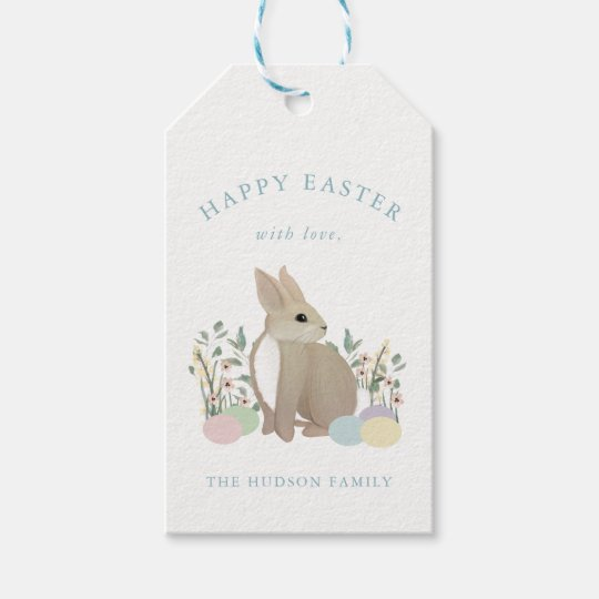 Meadow Bunny - Easter Gift Tag