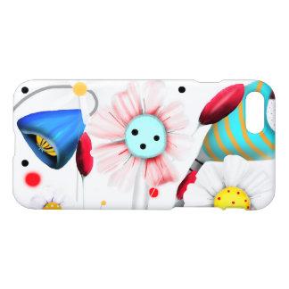 Meadow Cute Black Polka Dots iPhone 8/7 Case