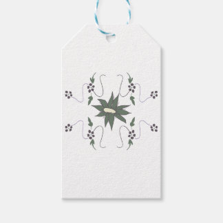 Meadow flower gift tags