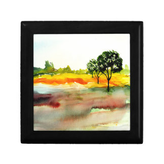 Meadow Flowers Impressionist Watercolour Gift Box