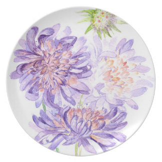 meadow flowers plates