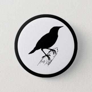 Meadow Lark 6 Cm Round Badge