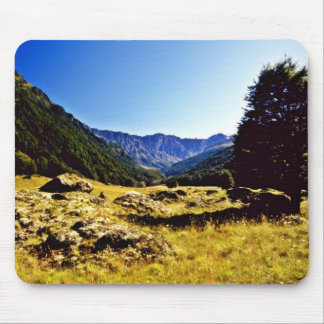 Meadow, Mount Aspiring National Park, South Island Mouse Pad
