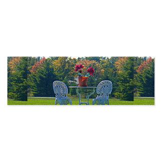 Meadow of Love Autumn Leaves Skinny Registry Card Pack Of Skinny Business Cards
