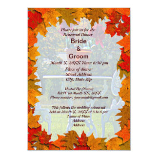 Meadow of Love Rehearsal Dinner Invitation