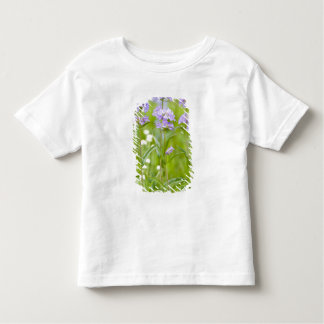 Meadow of penstemon wildflowers in the toddler T-Shirt