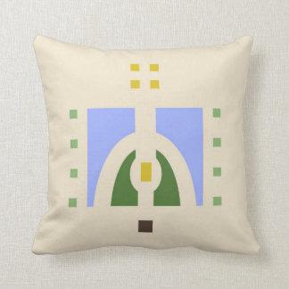 Meadow Stencil Design Cushion