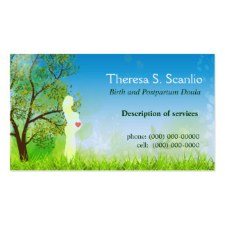 Meadow Walk Doula Midwife Pack Of Standard Business Cards
