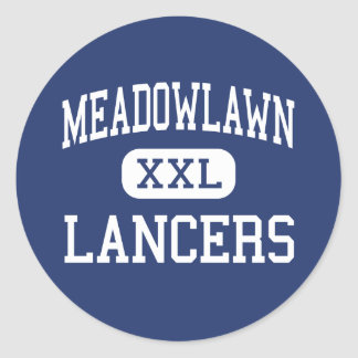 Meadowlawn Lancers Middle Saint Petersburg Sticker
