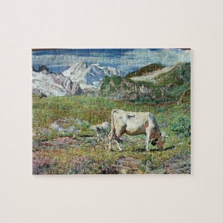 Meadows in Spring Jigsaw Puzzle