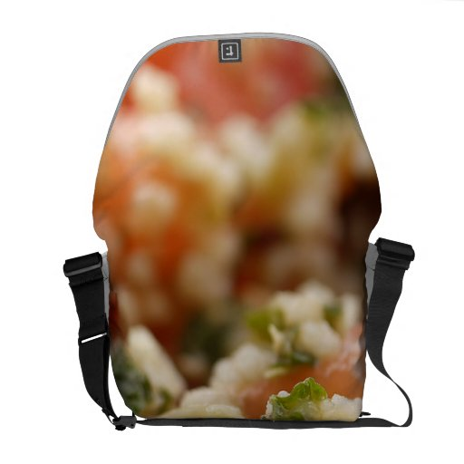Meal Dish Messenger Bags