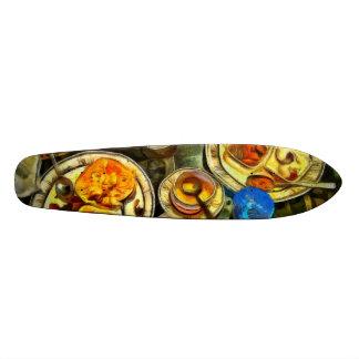 Meal done 21.6 cm skateboard deck