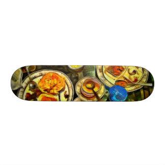 Meal done custom skateboard