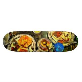 Meal done skate board