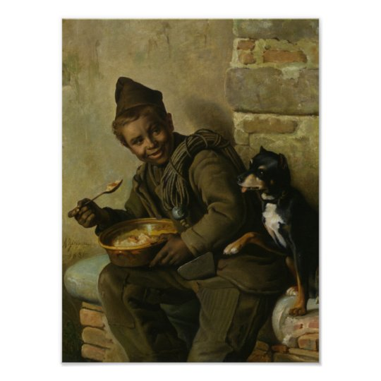 Meal Time for the Chimney Sweep Poster