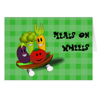 Meals on Wheels Recipe Card