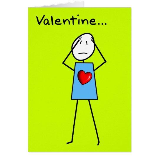 Mean and Spiteful Valentine Card