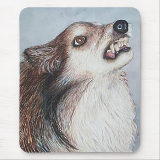 Mean Dog Kelly Mouse Pad