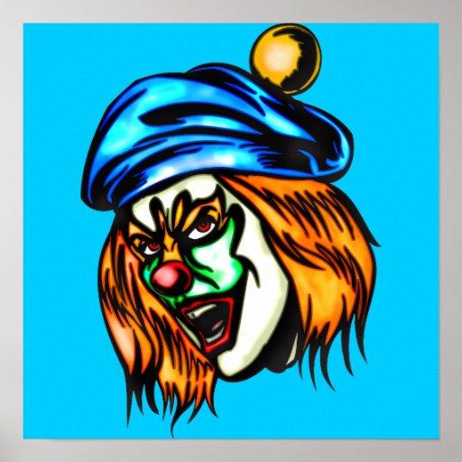 Mean Evil Clown Posters